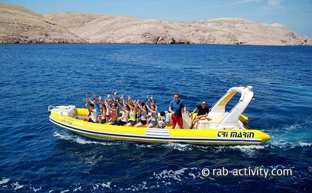 Rab Activity Speed Boat